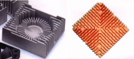 Die-cast heatsinks