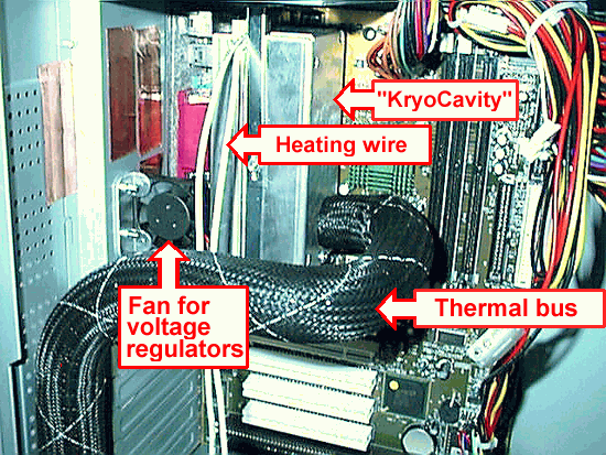 The components of the cooling system (Image in PNG format)